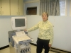 Gail with Ultrasound