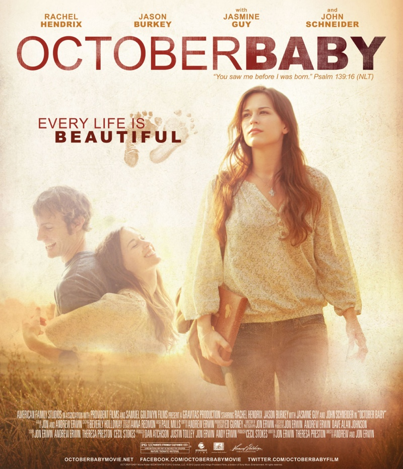 Care Net PRC Presents October Baby Movie Free to the Public ...