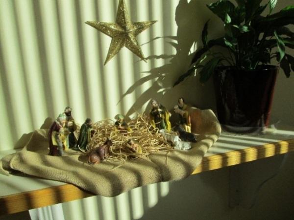 Nativity set at Carenet PRC